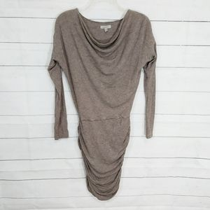 Athleta Solstice brown long sleeve dress size XXS